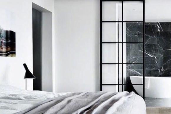 9套玻璃隔断墙装修案例,家里通透又明亮,小户型这样隔断真敞亮