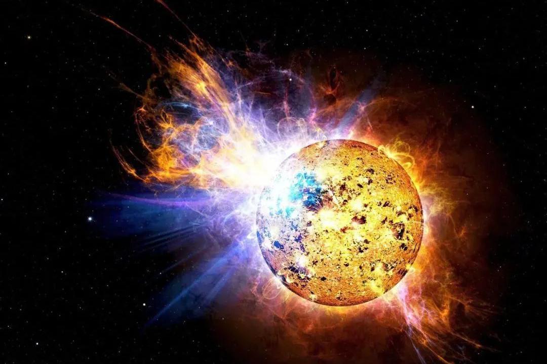 发现一次大太阳耀斑,在几分钟内就释放出太阳能量的0.02%!