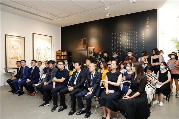 华艺国际(北京)首拍新闻发布会暨北京精品展揭幕
