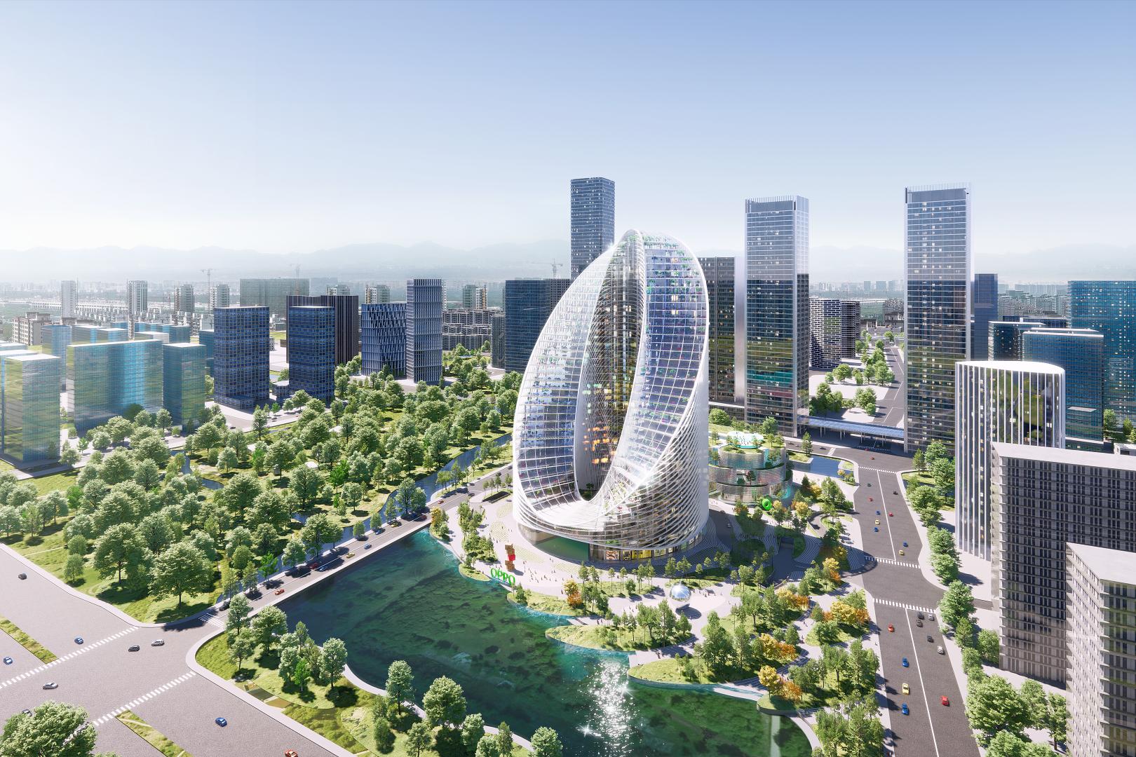 全球研发总部落户未来科技城,绿厂果然大手笔