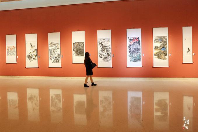 石家庄美术馆,这里的作品让人看不懂,却成为了网红小众打卡地
