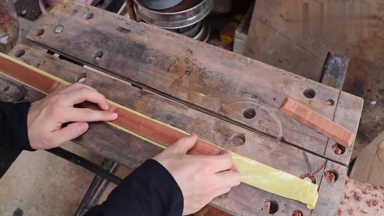 神奇的钢片乐器!我还是第一次见,看看牛人怎么制作的!
