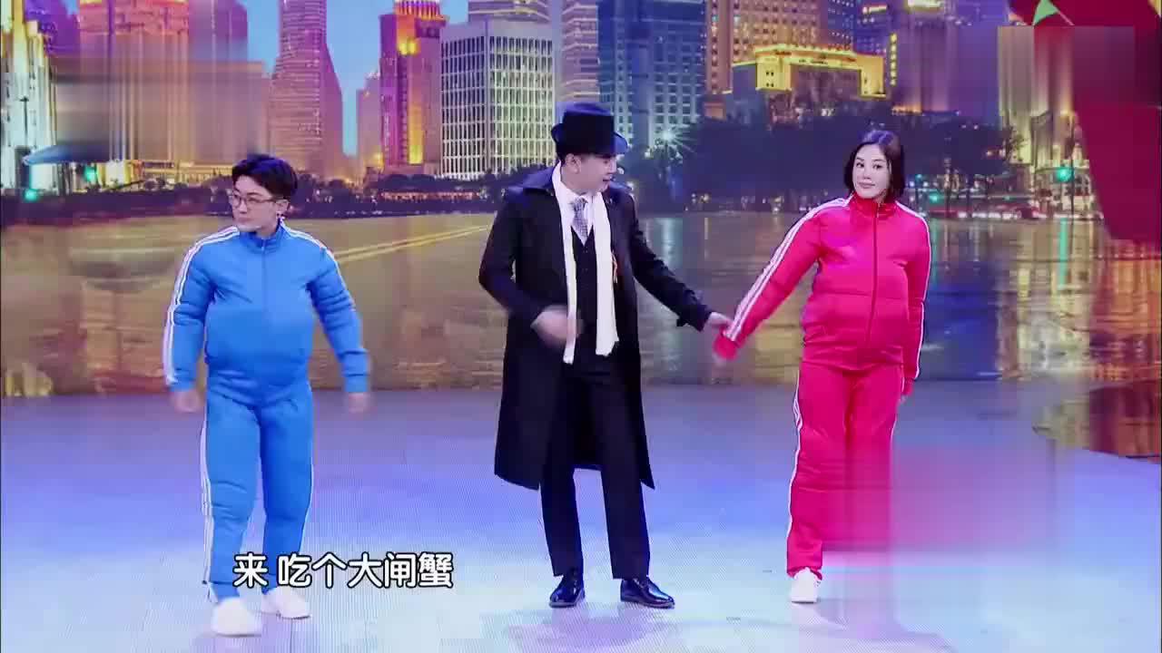 金志文夫妇为爱减肥成功,画面好有爱啊,吓得赶紧跑了十圈