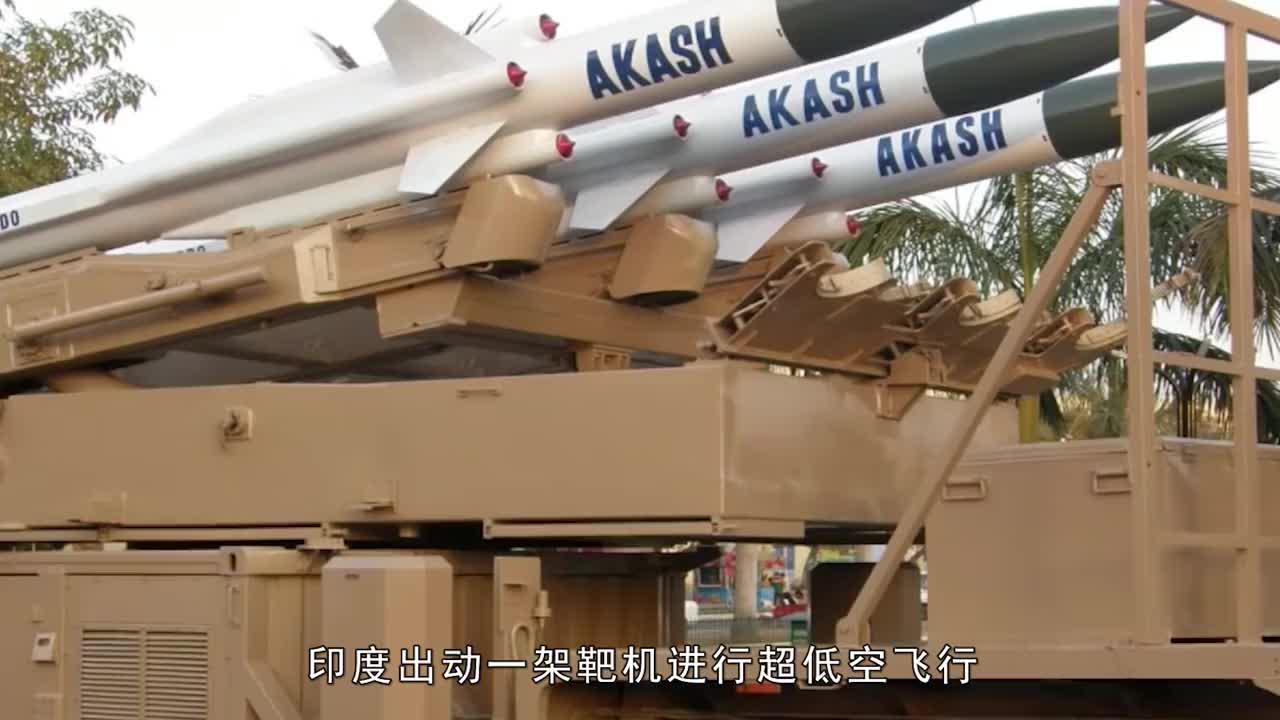 边境印军突然开火,新型导弹直冲云霄,一架军机当场被击落