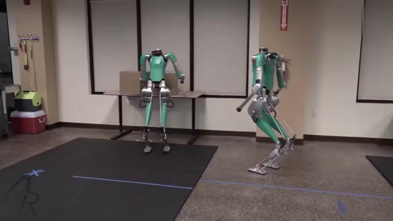 黑科技机器人测试,越来越像人了!