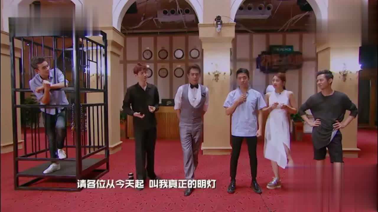 魏大勋男扮女装成白雪公主,警告魏晨不要觊觎他的美貌