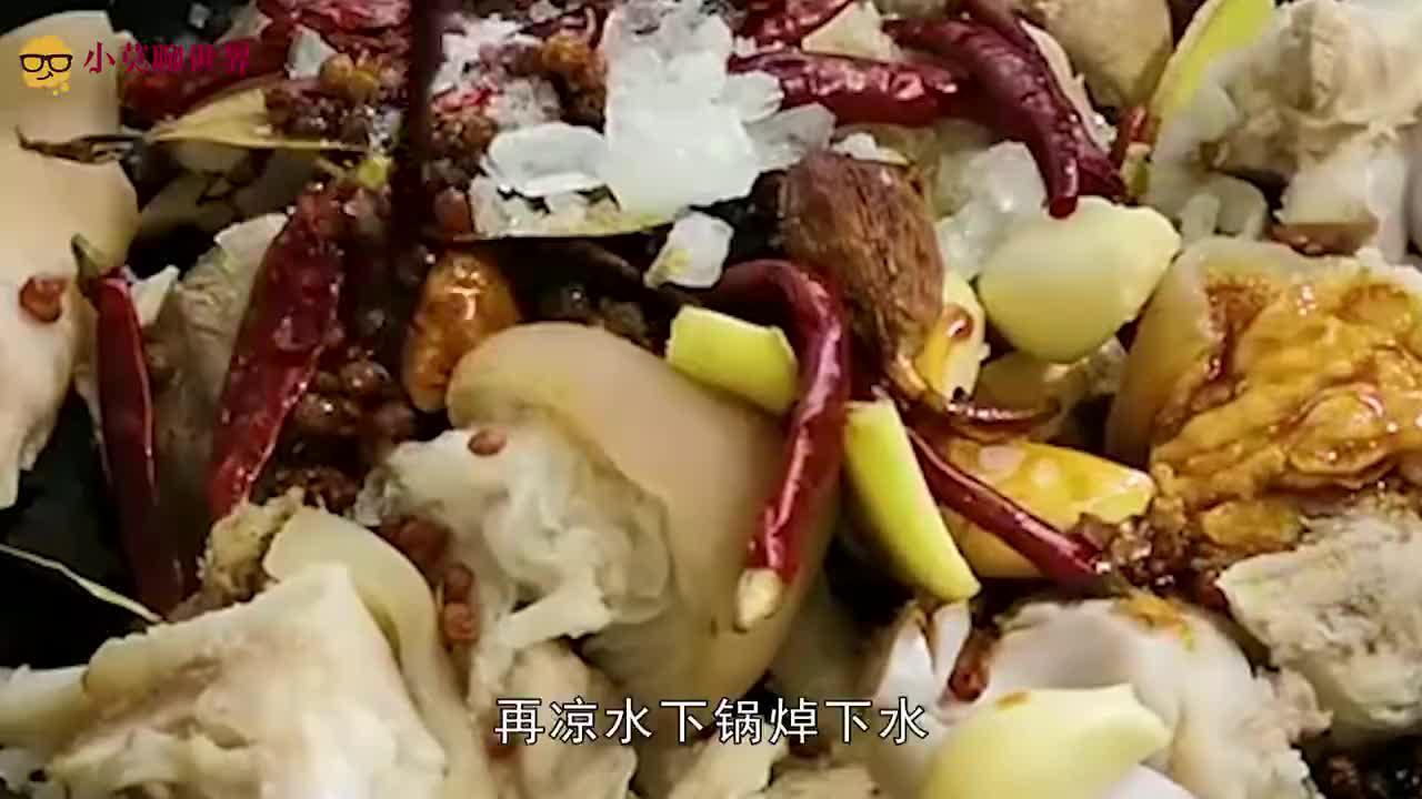 炖猪脚时,不要直接下锅炖,多加这1步,猪脚更烂,更入味!