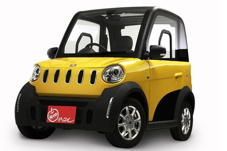 松下e-Apple微型纯电动车正式上市 售100万日元起