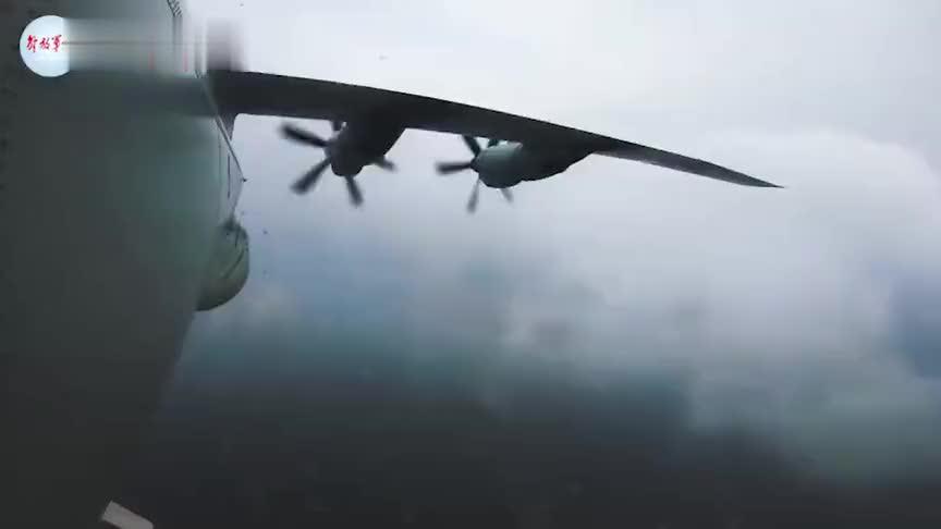 现场!反潜巡逻机实弹考核精准命中目标