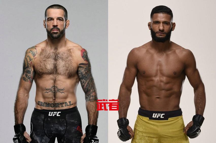 6月19日UFC:马特·布朗vs迪耶戈·利马