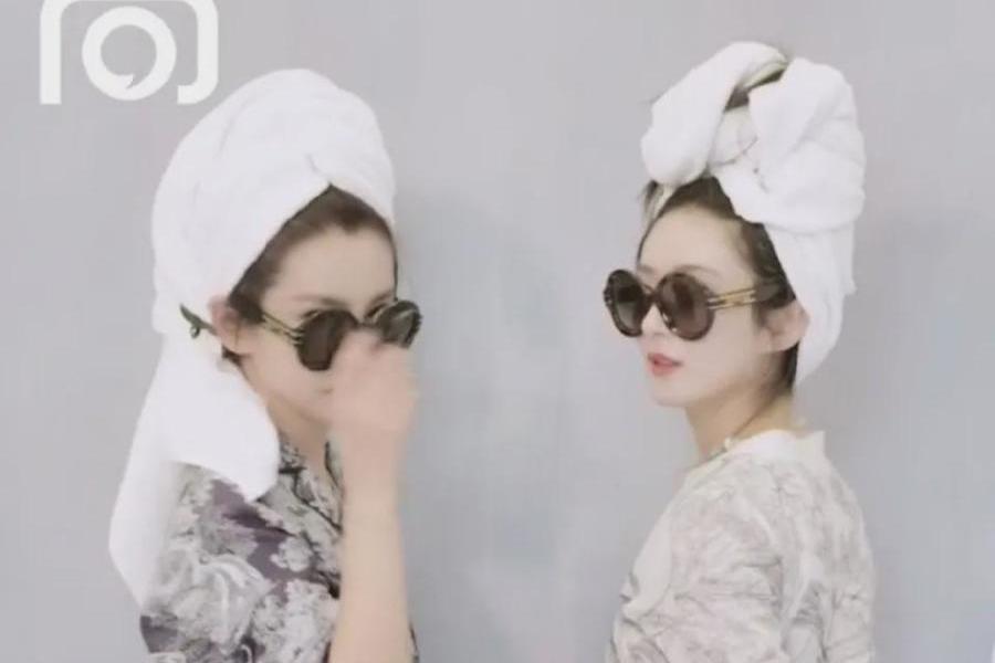 赵丽颖与李冰冰合拍封面,气场被李冰冰碾压,被嘲像刚从澡堂出来