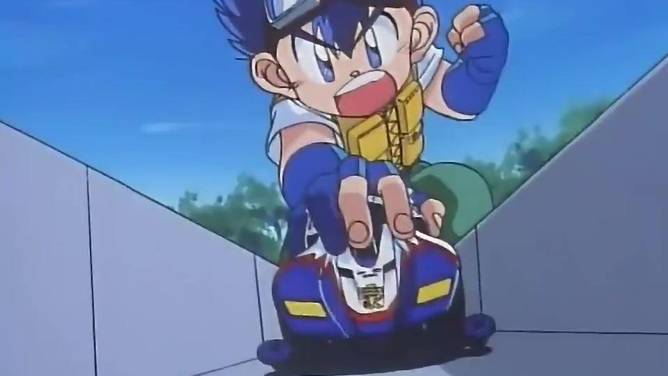 小烈和小豪参加四驱车比赛,车子一路飞奔,甩掉众多对手!