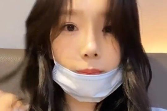 少女时代成员泰妍SNS发视频秀出众美貌