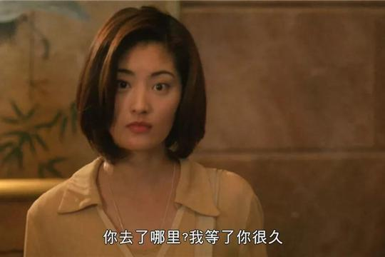 日本女演员第一次拍港片,就和张国荣合作,单单看颜值,我就爱了