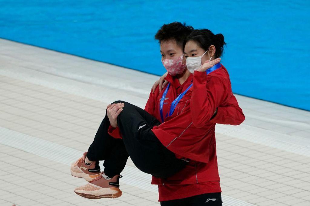 长得太帅也是错?日本网友竟嘲讽中国女子跳水双冠王:以为是男人