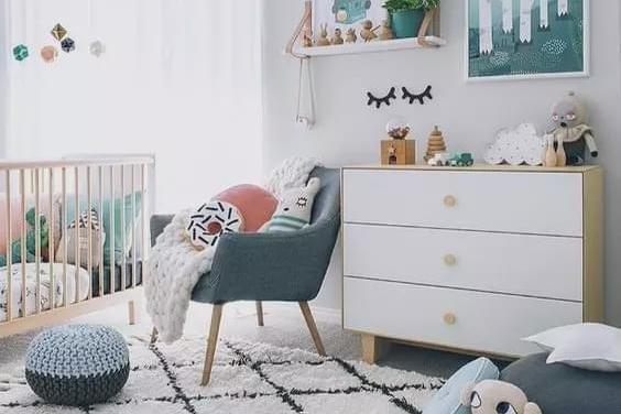 小户型的儿童房,简单却实用,孩子看了都喜欢