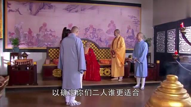 少林寺入学考试,官二代和高僧一起面试,谁料官二代读的佛书更多