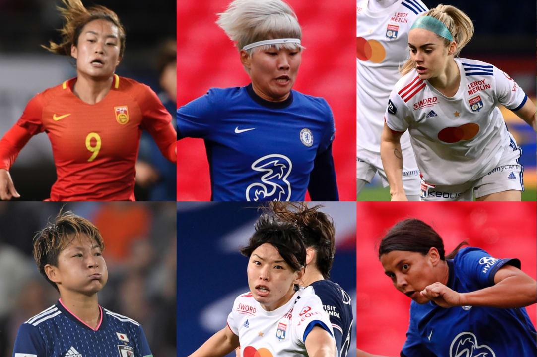 中国女足两大王牌入围亚洲最佳,王霜爆冷无缘,进奥运稳了