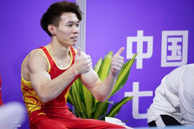 大器晚成!中国体操又一悍将崛起,击败两世界冠军登顶成最大黑马