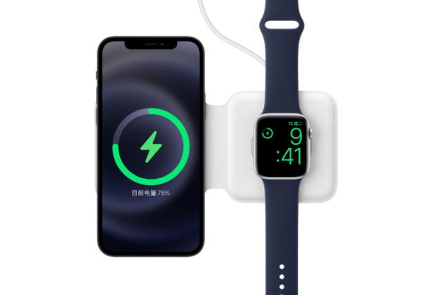 苹果开卖MagSafe双项充电器售价千元!可为两个设备无线充电