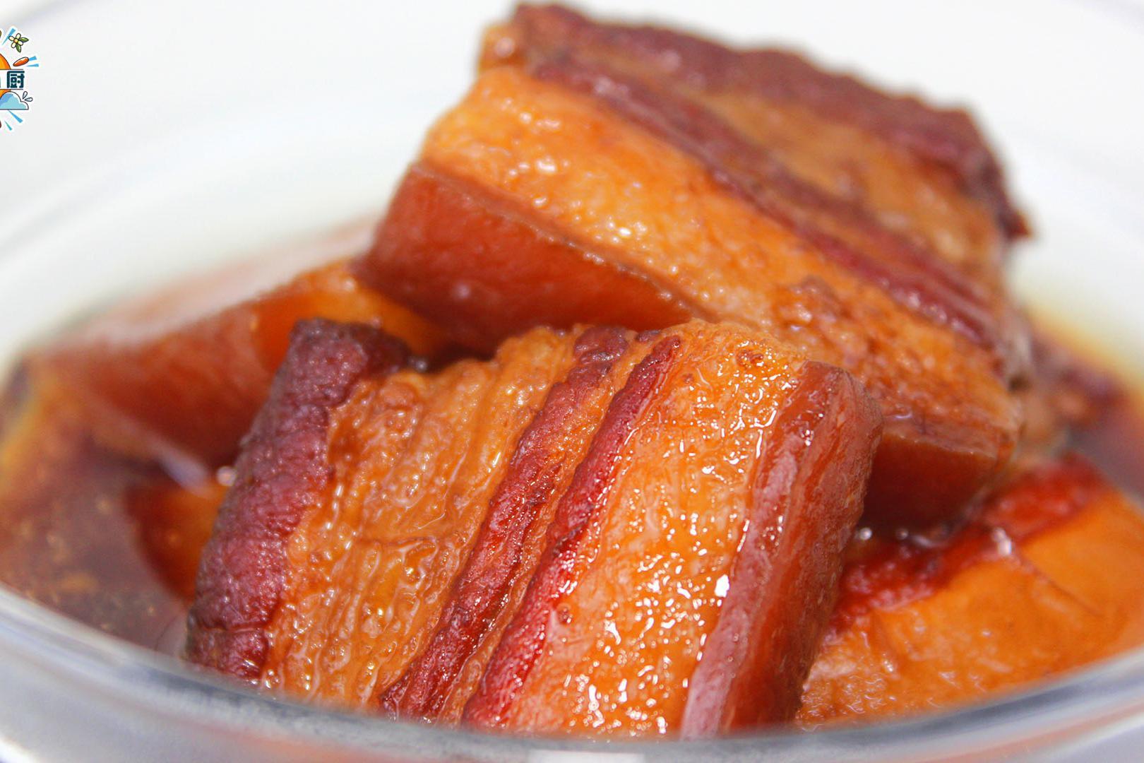 五花控肉,煮妇必学红肉料理,外焦内软、入口即化,炒出漂亮糖色
