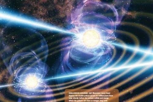 """天眼发现2.6万光年外的""""红背蜘蛛""""脉冲双星,正在上演炫酷舞蹈"""