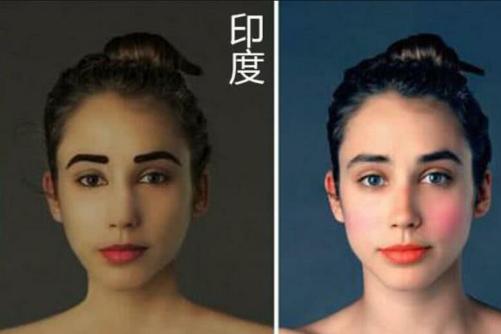 审美的差距多大?女生肖像让世界各国的人PS,还是中国的美