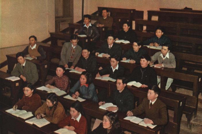 老照片 1952年哈尔滨工业大学  工程师的摇篮
