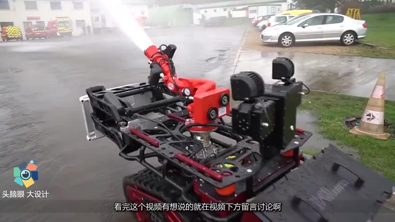"""中国小伙,发明首款""""灭火机器人""""获得25项国家专利,惊艳世界"""