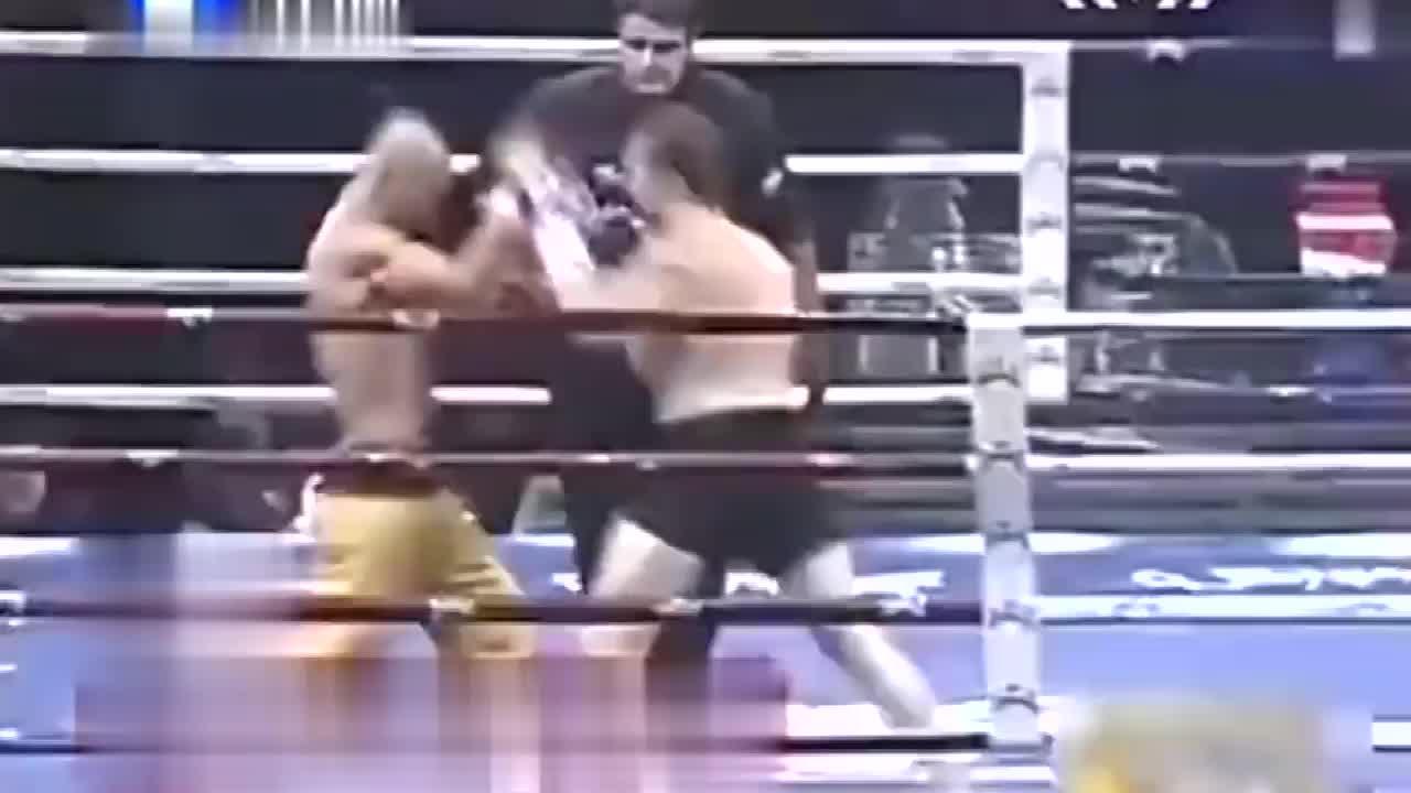 这一战武僧一龙等了3年,40秒KO对手成为了世界级金腰带