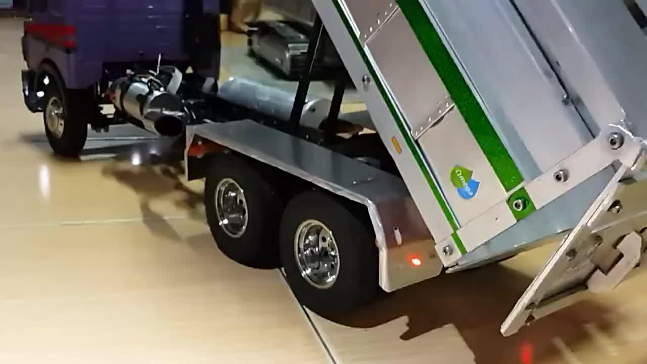 卡车模型,捯饬了半个月!网友:看着挺不错!