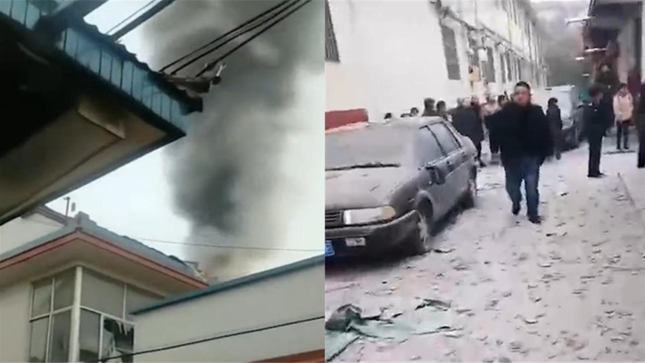 山东潍坊一住户爆燃起火致2死 嫌疑人畏罪跳楼自杀