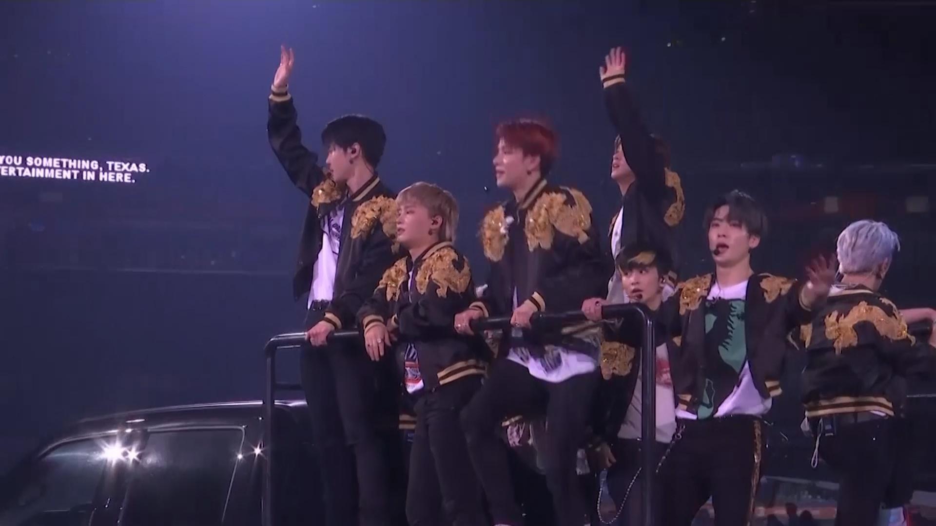 NCT127上全美最大规模牛仔节 是第一个参演该活动的韩团