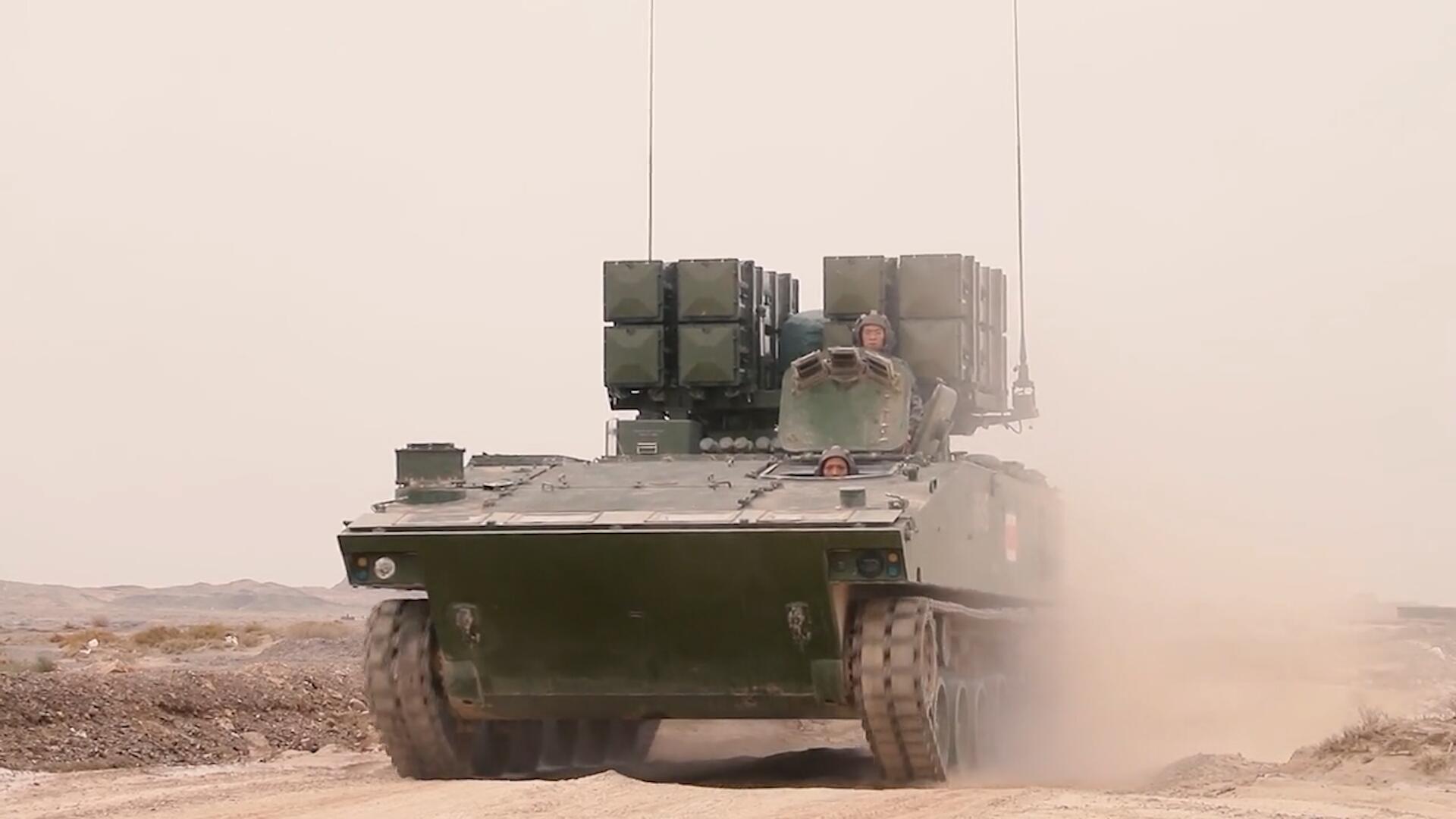 """中国陆军高燃实弹军演,红箭""""坦克杀手""""亮相!"""