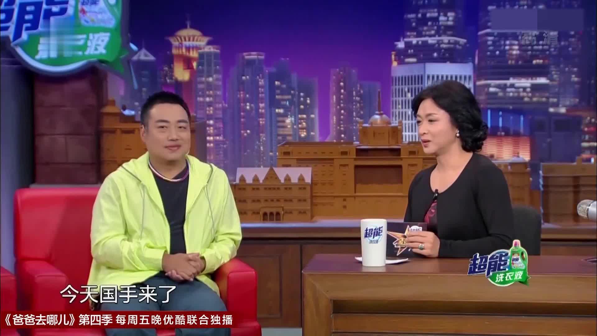 金星秀:刘国梁拿锅铲打乒乓,球球都能打回去,这准度太牛了吧!