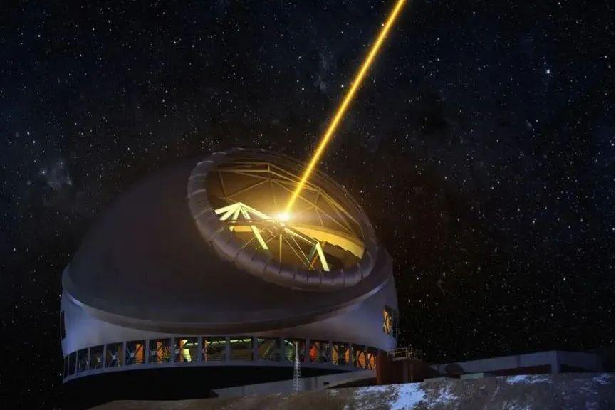 科学家改进的激光,将有助于大型光学望远镜,收集更准确的数据!
