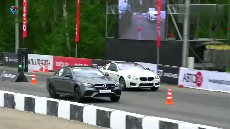 奔驰E63AMG单挑奥迪RS7, 奔驰跑完当场蒙圈了!