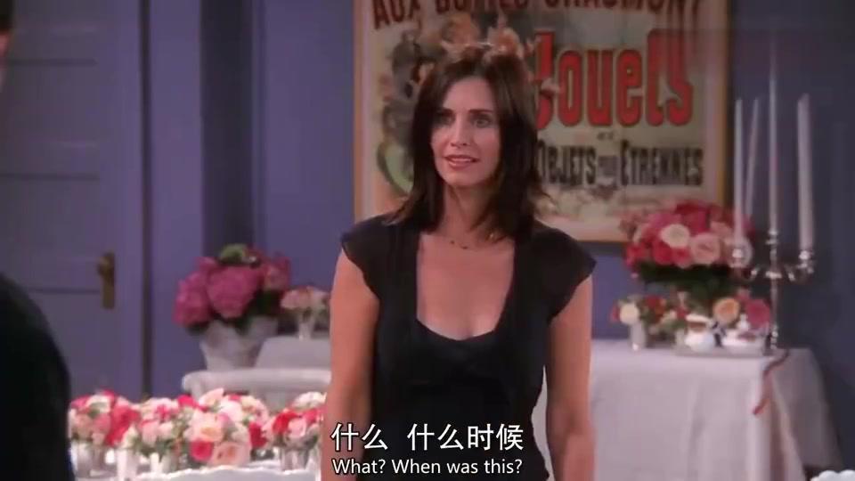老友记:罗斯拿走莫妮卡初吻,钱德勒无语了