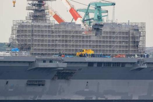"""战后条约将被打破!日本对""""出云""""号进行改造,即将拥有真航母"""