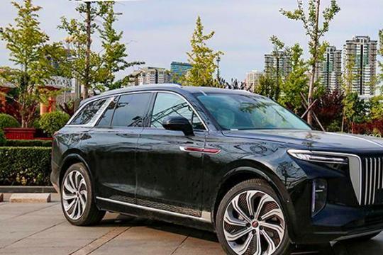"""""""红旗E-HS9""""静态赏析,55万起售,将豪赌纯电SUV市场!"""