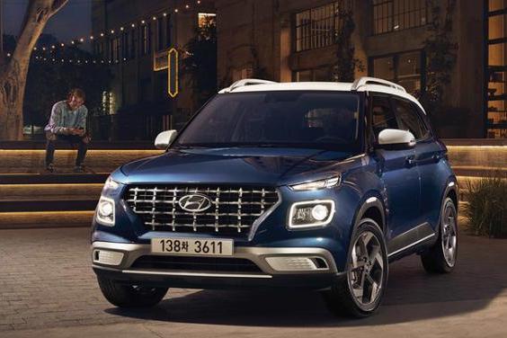 2021款现代Venue官图发布,定位小型SUV