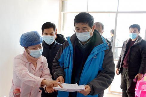 省卫健委检查指导新野县疫情防控工作
