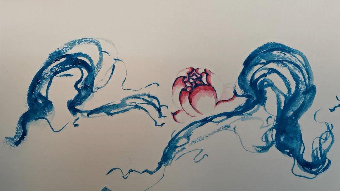 第一次画水彩画插画,体验感还不错,可以画出唯美的感觉