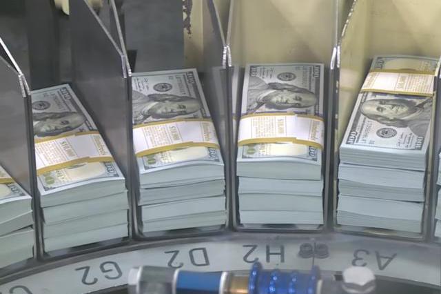 """美国""""印钞规模""""达6万亿美元!与此同时,中国央行发行100亿央票"""