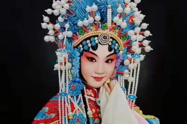 国粹京剧超写实油画第一人薛海涛作品欣赏