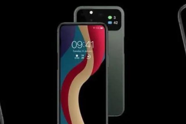 苹果iPhone 12新渲染图有点意思!摄像头有屏幕致敬魅族Pro7?