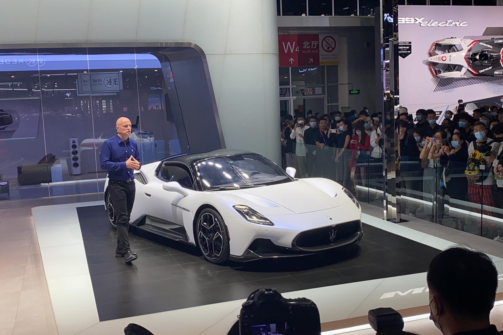 玛莎拉蒂MC20预售价210万,零百加速2.9秒