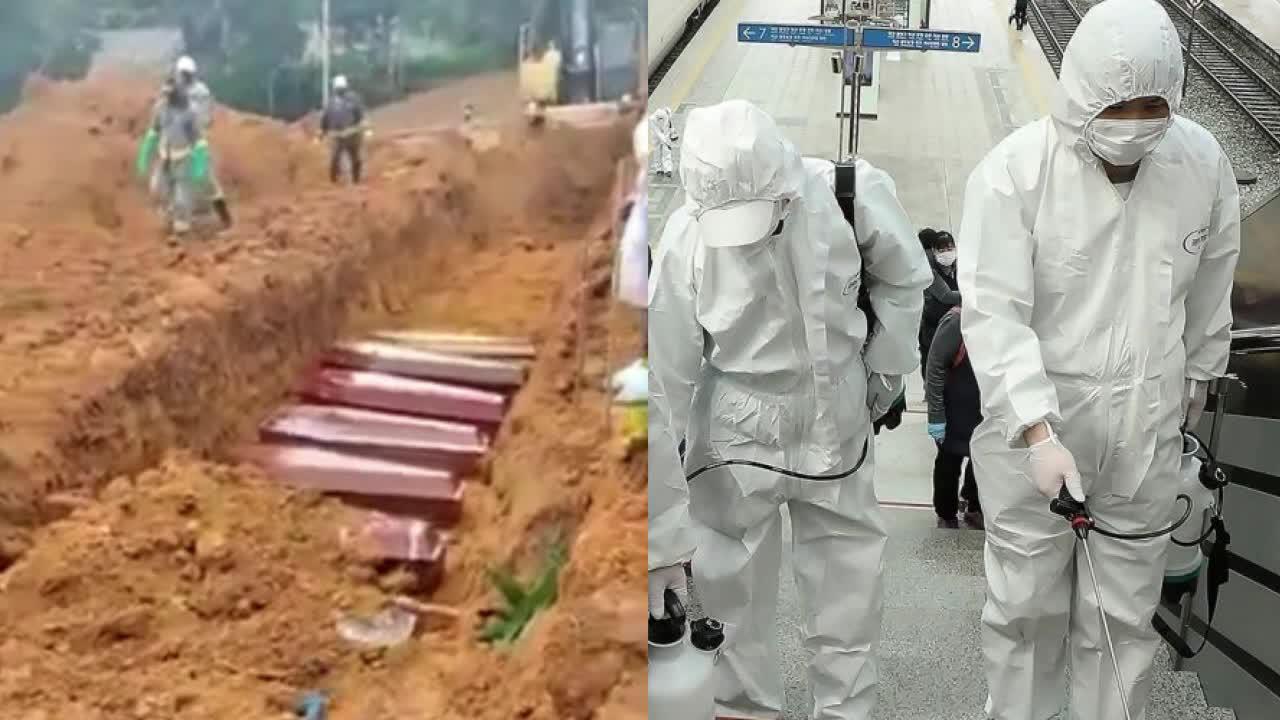 一天下葬100人!巴西一城市挖掘大型坟墓埋葬死者 家属在旁痛哭