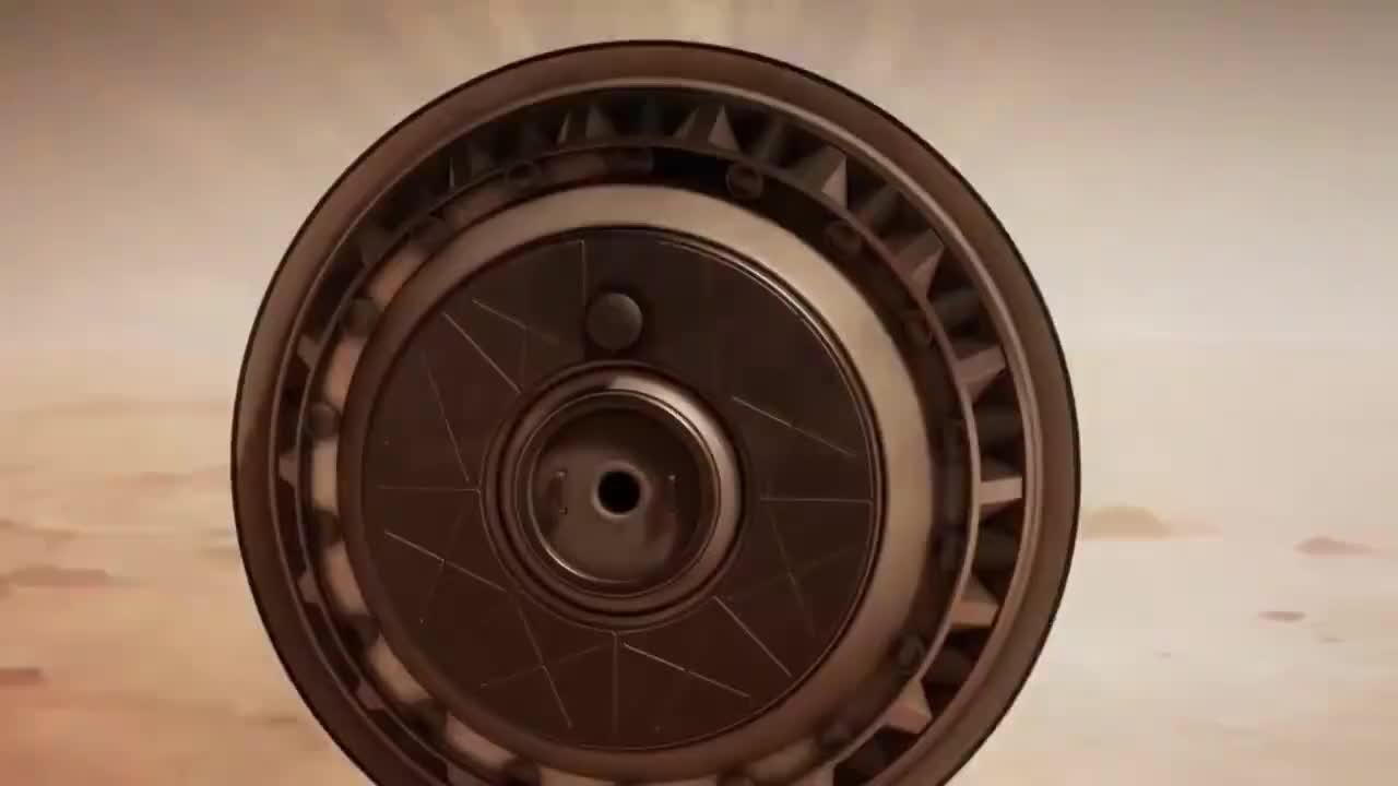 3D动画模拟载人航天器火星着陆过程,大开眼界了!