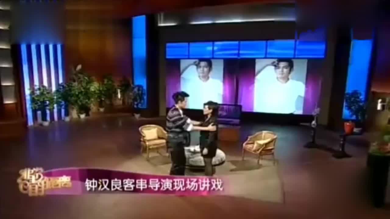 钟汉良变身导演现场讲戏,与李小冉拍吻戏竟撞出鼻血